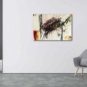 "Abstraktes Gemälde - ""Explosion"" - 101 - Unikat"