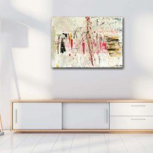"Abstraktes Gemälde ""Phantasia"" - Unikat - Wandbild auf Leinwand - Handgemalt - 114"