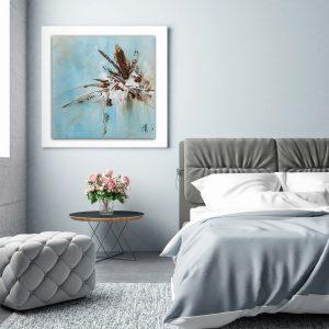 """Abstraktes Wandbild - Acryl Gemälde - """"Impression"""" Unikat - 165"""