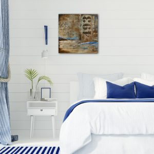 "Abstraktes Wandbild - Acryl Gemälde - ""Rustica 493"" Unikat handgemalt (194)"