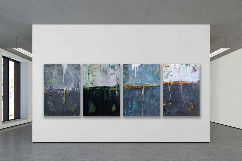 """07.06.2019 - Vernissage """"Abstrakte Internationale Kunstausstellung"""" Achtzig-Galerie Berlin"""