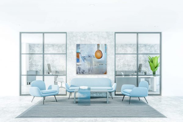 """Loft Phantasie″ Acryl Gemälde Unikat (214) handgemalt - Gabriele Hofer"