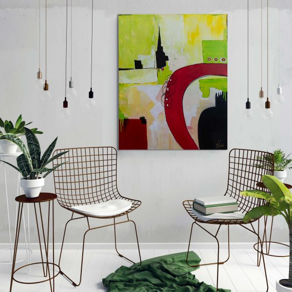"""Phantasie″ Acryl Gemälde Unikat (215) handgemalt - Gabriele Hofer"