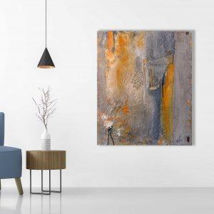 "Abstraktes Acryl Gemälde ""Travel"" Unikat, handgemalt (239) (c) Gabriele Hofer"