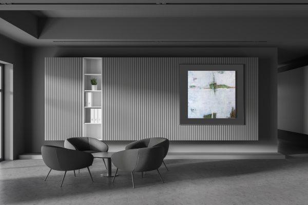 """Moderne Kunst, abstraktes Acryl Gemälde """"Illusion"""" Unikat (259)"""