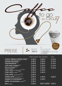 Neu am Circus 7: Coffee to go